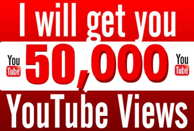 50,000 REAL Youtue Views or Vevo