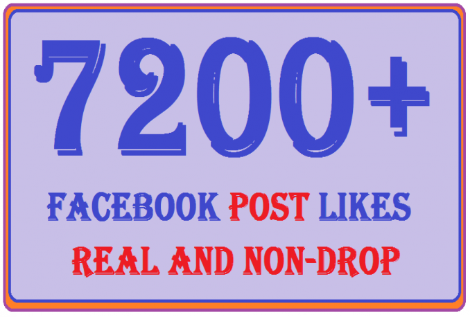 do real facebook likes HQ permanent