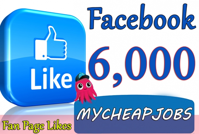 Gives you 6,000+ Instant Guaranteed Facebook Likes.