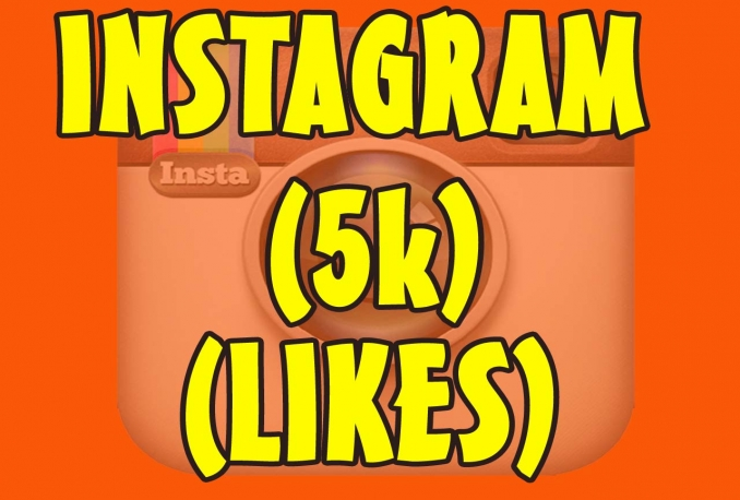 Instagram 5,000 Instant Fast Non Drop Followers