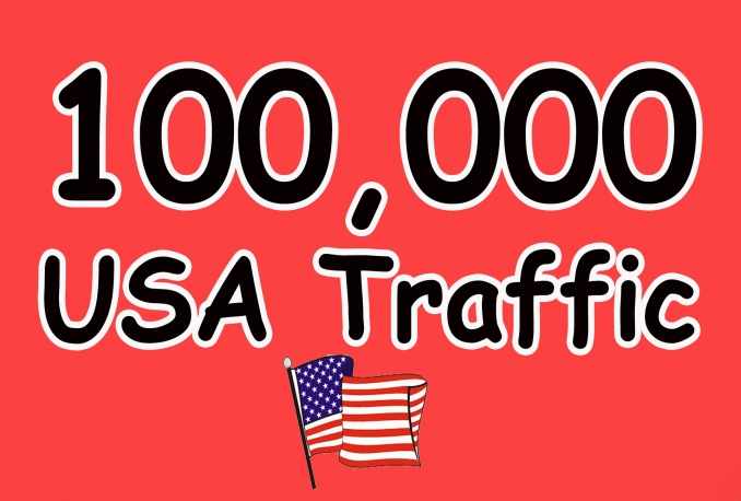 will gives you 100,000 real and HQ traffic to your website .