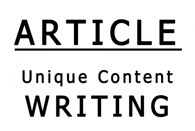 write 500 words unique SEO optimized handwritten articles for blog or websites