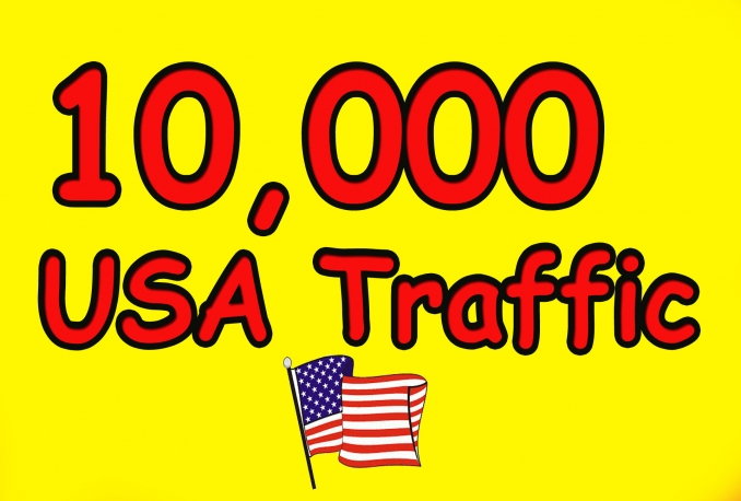 i will gives you 10,000 real and HQ traffic to your website