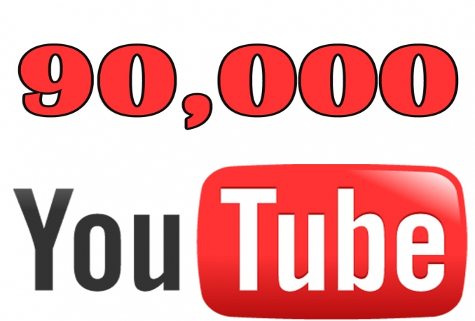 Add 90,000 guaranteed Youtube Views On Any Video