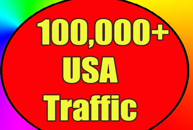 i will gives you 100,000 real and HQ traffic to your website .