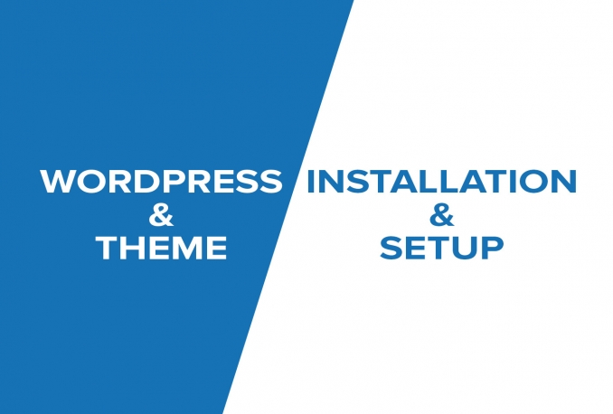install, fix, move, optimize WordPress Blog or Themes and also install Plugins