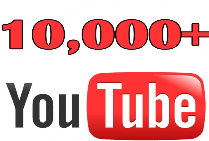 Add 10,000 guaranteed Youtube Views On Any Video