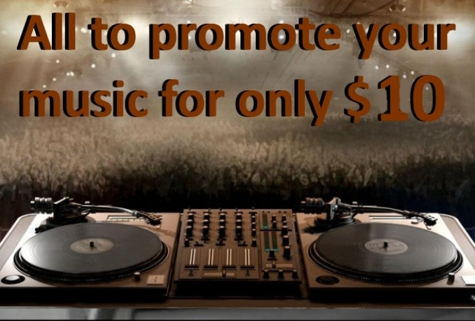 give 13,000 contacts DJs, radiostations, labels, producers, sites for your music