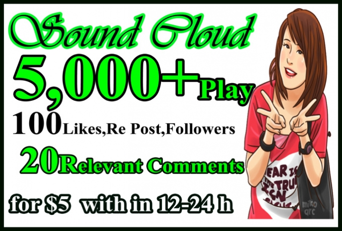 Do Fast Real soundcloud Like Repost Followers Play Service
