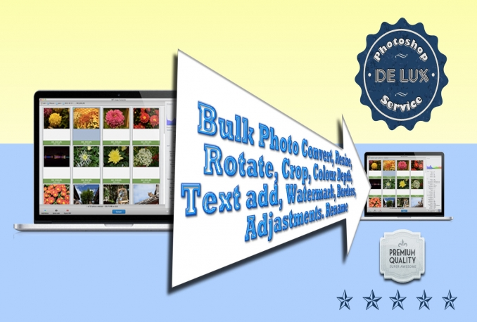 bulk convert your photos to any format, resize and more