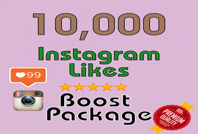 add 10000 Instagram Likes, 100% REAL