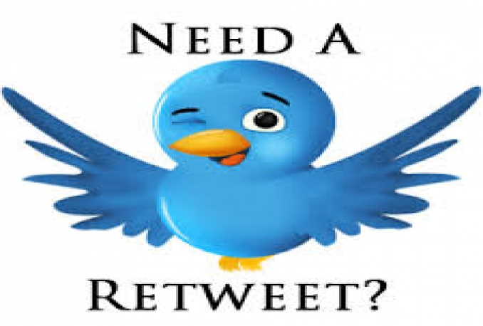 give +300 Twitter Re-Tweets