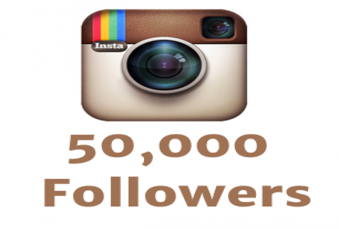 give 50.000+ Stable/non drop instagram followers!