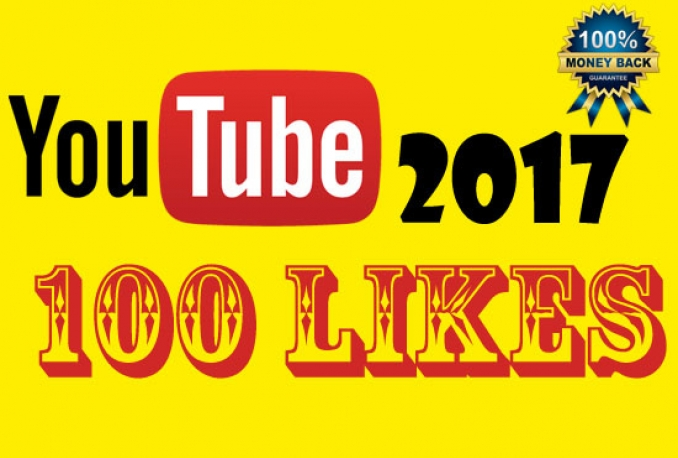 give 100 YouTube likes