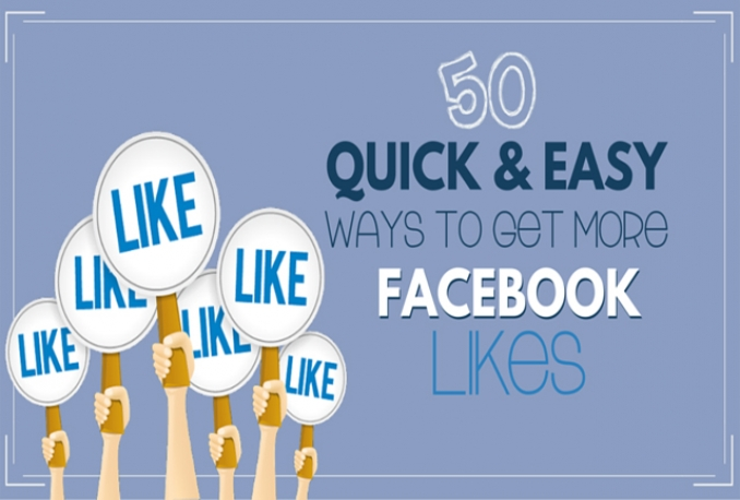 Gives you 50+ Instant Guaranteed Facebook Likes