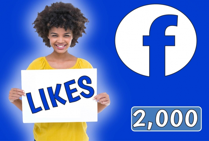 Add 2,000 Fan Page Likes to your page
