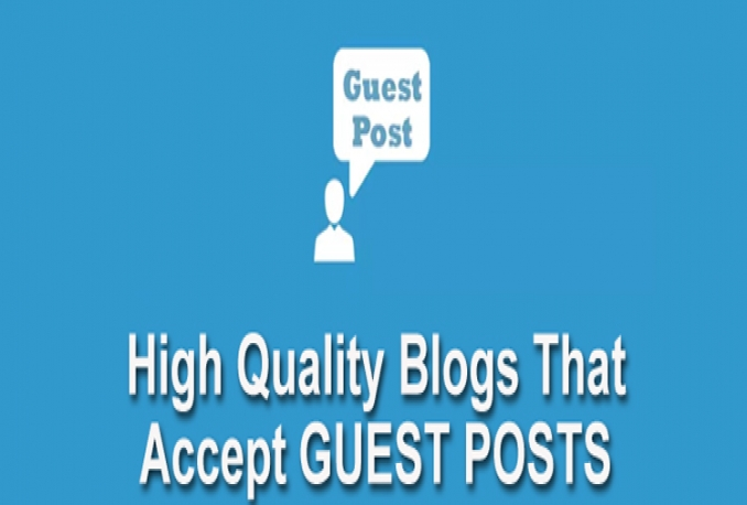 find you 50 Quality Sites For Guest Blogging Opportunities in your Niche