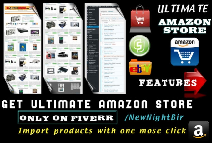 build ULTIMATE outstanding Amazon Affiliate autopilot store