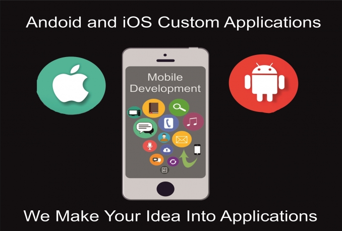 develop Custom Android And iOS Applications