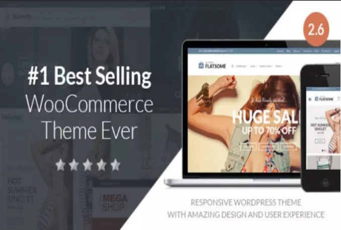 give you Flatsome v3.1.4 Responsive WooCommerce Theme