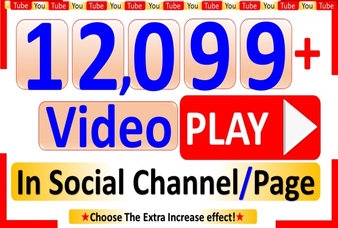 Promote 12,099+ YouTube-Video Views to Real Viewers, Good Retention Non Drop to Develop in Rank