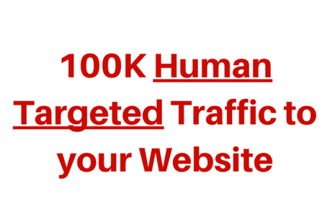 drive 100,000+ Real and Unique visitors to your website/blog or any link
