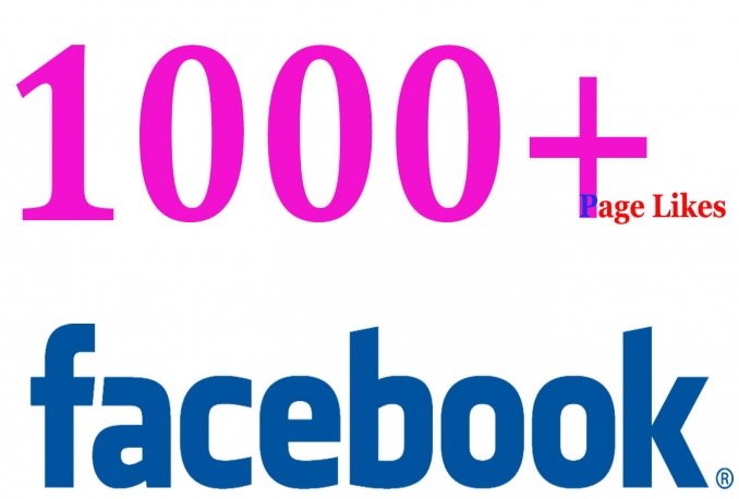 add 1000+facebook likes for your page