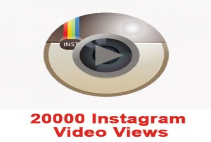 20000 instagram video views split available