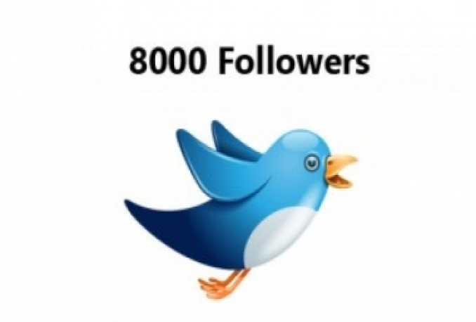 Gives you 2500+Guaranteed Twitter Real Followers.