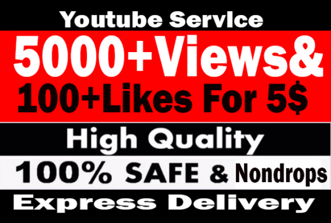 promote your Youtube Video to 5000 Real viewers