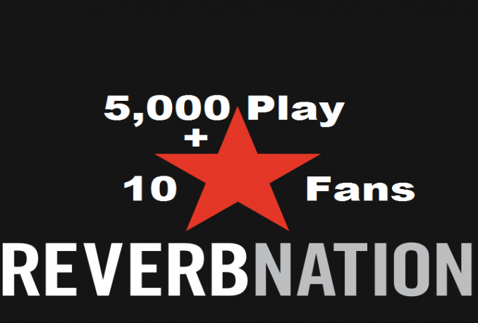 give You 5,000 ReverbNatio Plays With 10 Fans