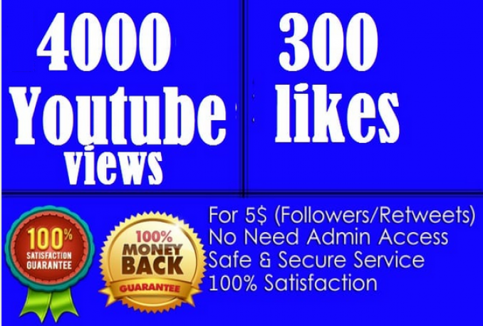 promote your Youtube video to 4000 viewers