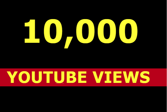 add 10k 10000 youtube views and 200 likes
