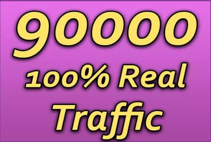 send 90,000 quality USA traffic to your website