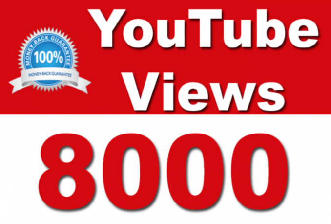 promote your Youtube video to 8000 viewers