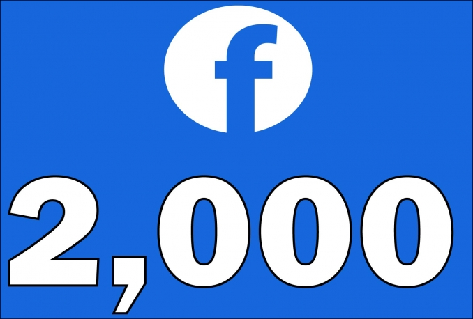 2,000+Instantly started Active Facebook Fan Page likes