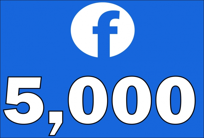 5,000+Instantly started Active Facebook Fan Page likes