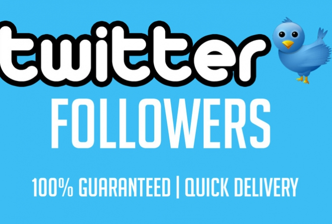 Add Non drop 15k Twitter Followers