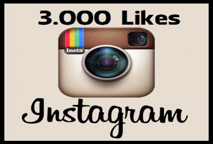 Instant High Quality instagram 3000 like