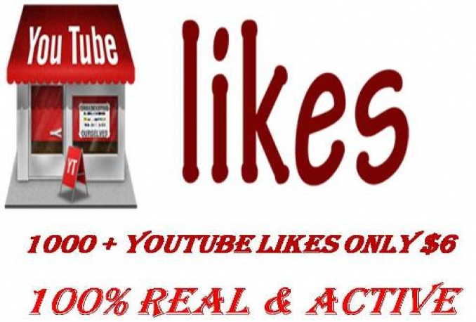add 1000+likes to your youtube video only $6