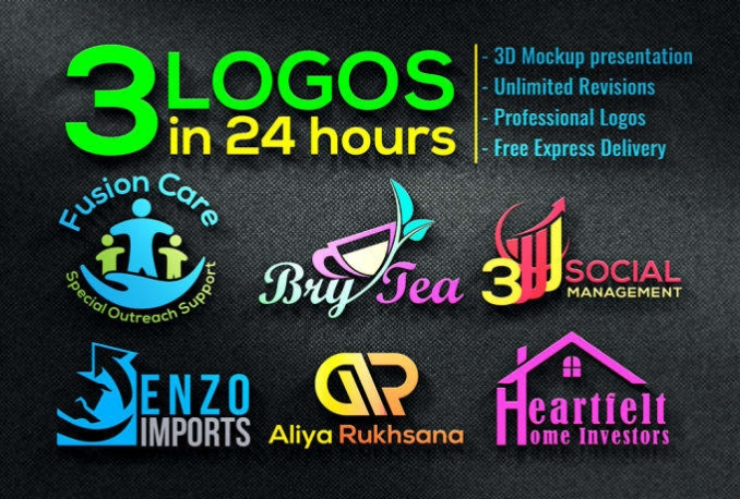 Design 2 Logo Concepts In 24 Hours