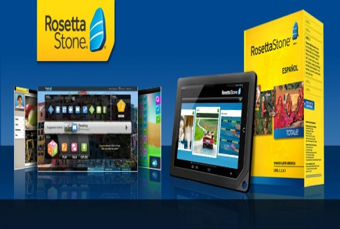 give to Rosetta Stone