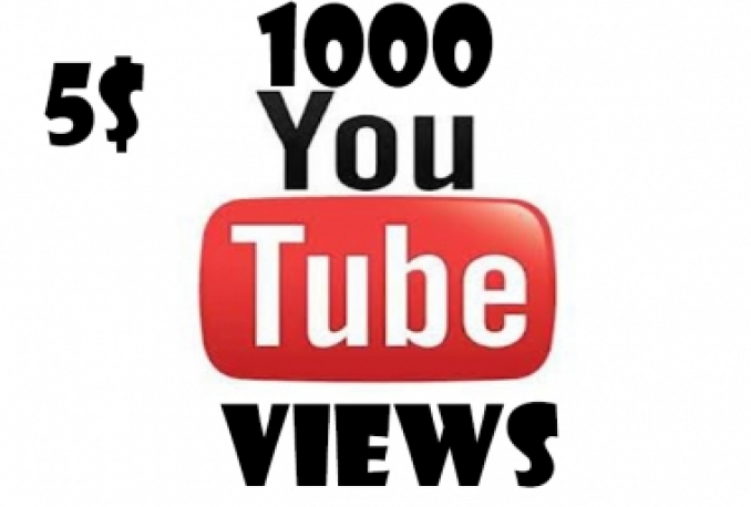 give you 1000 High Quality YouTube views that are perminate and also will help you rank your YouTube
