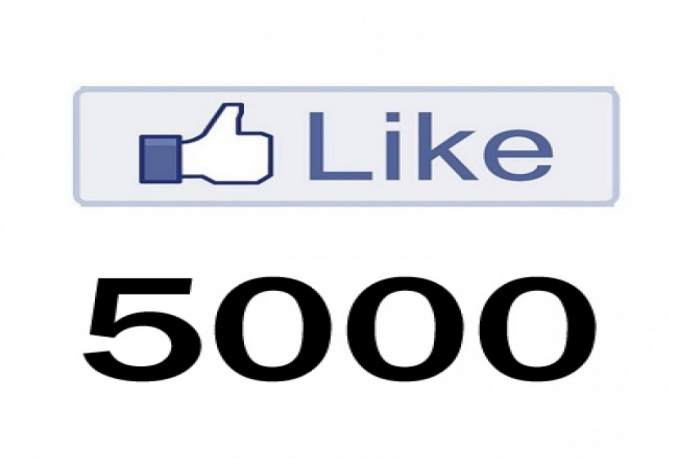 Gives you 5,000+Facebook Super Fast Instant Fan page likes