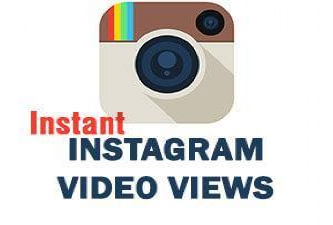 add 10000+ High Retention Instagram Video Views (Instant start and Complete)