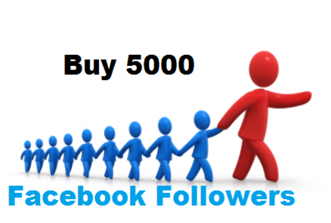 give you 5000 facebook followers