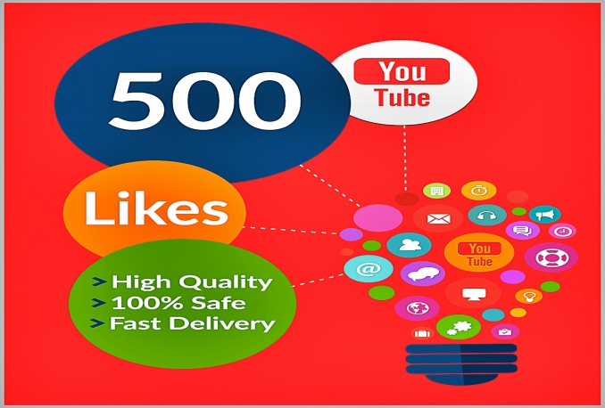 give you 500 YouTube Likes