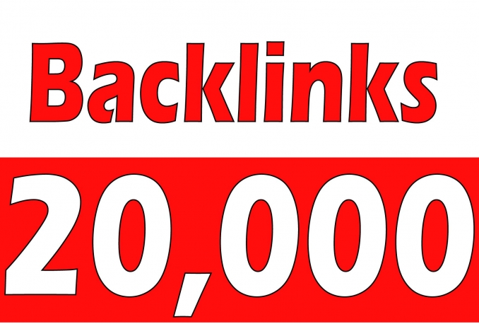 Create 20,000 Backlinks for your site