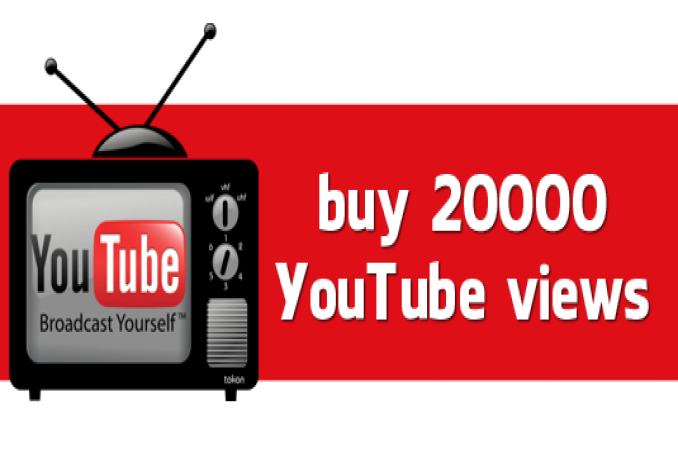 give you High Quality 20000++ Youtube Views