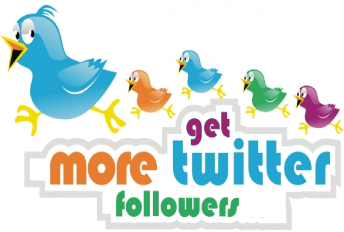 Add 3000+ quality Twitter followers to your twitter account.